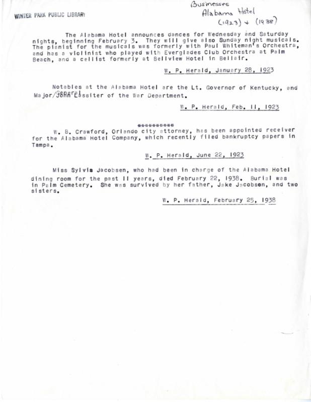 Winter Park History Historic Homes - Historic Homes and Buildings (Alabama Hotel) Alabama Dr 1600 - 019.pdf