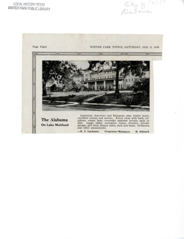 Winter Park History Historic Homes - Historic Homes and Buildings (Alabama Hotel) Alabama Dr 1600 - 017.pdf