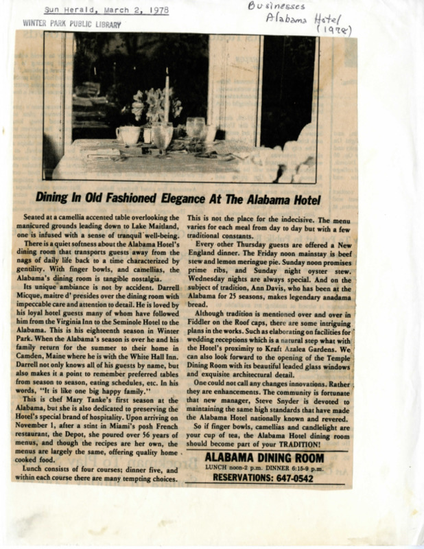 Winter Park History Historic Homes - Historic Homes and Buildings (Alabama Hotel) Alabama Dr 1600 - 002.pdf