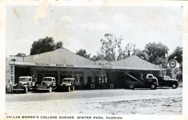 Dallas Bower College Garage