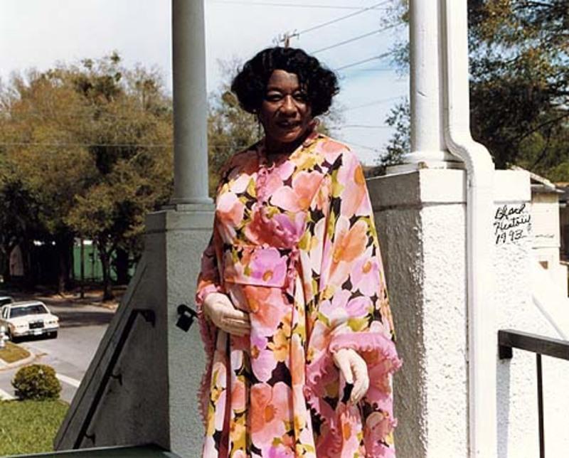 Eula Jenkins at Mt. Moriah Church