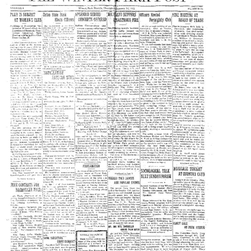 January 31, 1921