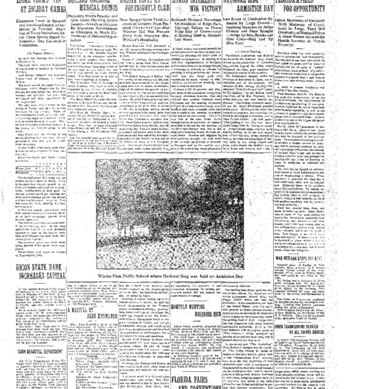 November 18, 1920