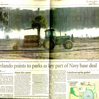 Orlando points to parks as key part of navy base deal