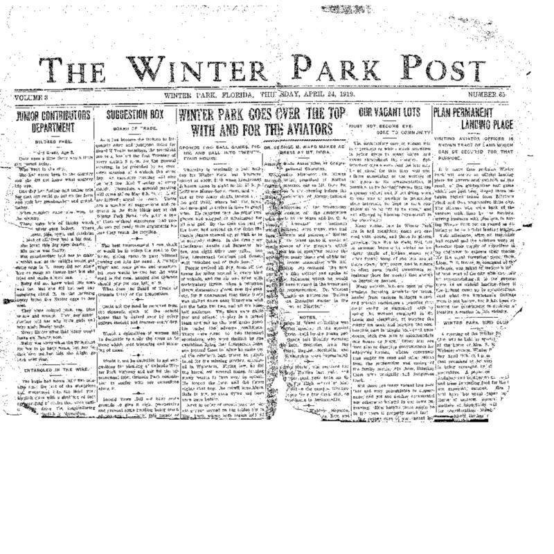 April 24, 1919