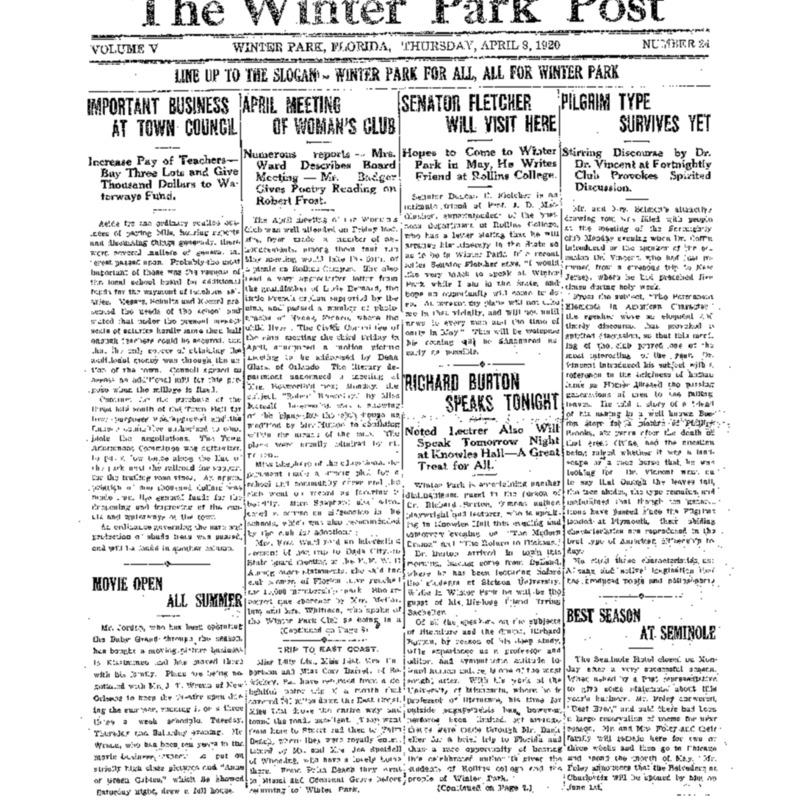April 8, 1920
