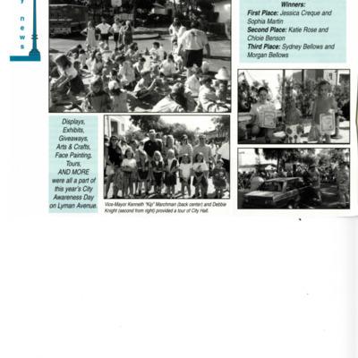 City Awareness Day, Oct. 10, 1998