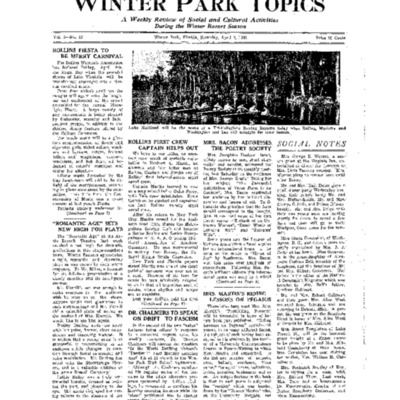 April 9, 1938