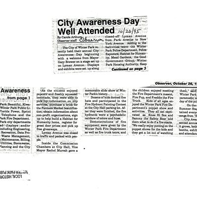 City Awareness Day Well Attended