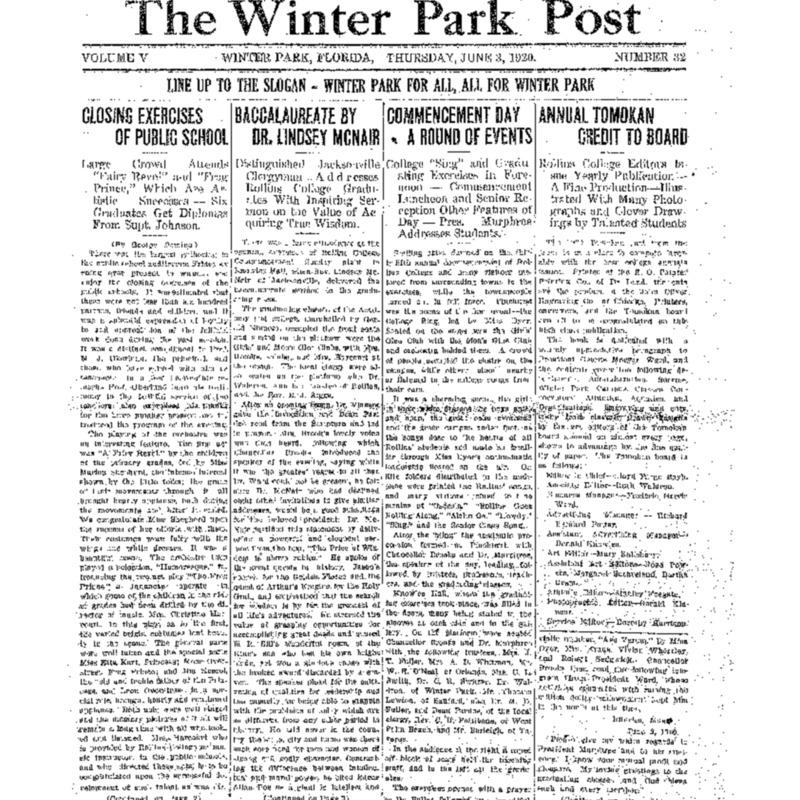 June 3, 1920