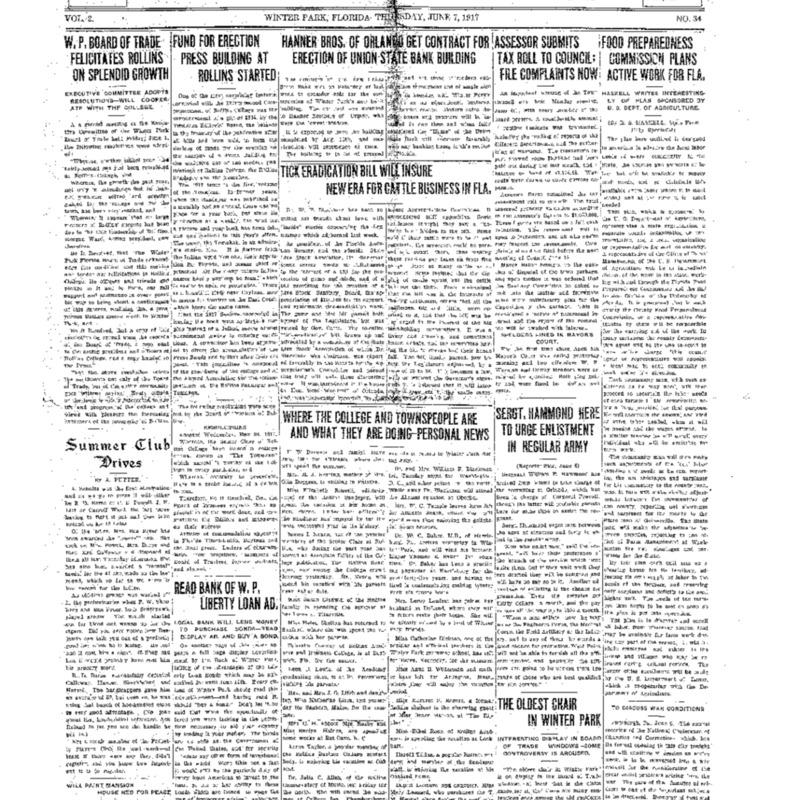 June 7, 1917