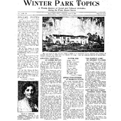 April 16, 1938