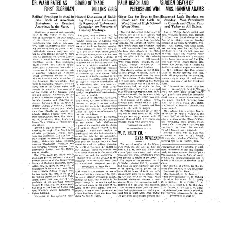 May 6, 1920