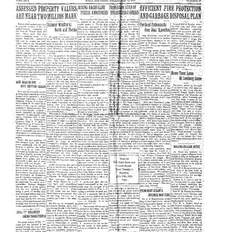 July 14, 1921