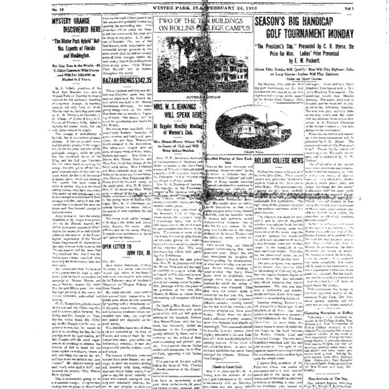 February 24, 1916