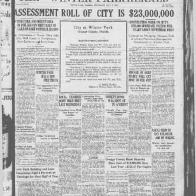 July 7 , 1926