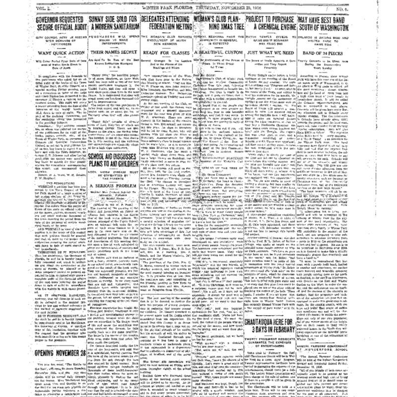 November 23, 1916