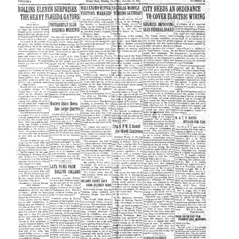 October 13, 1921
