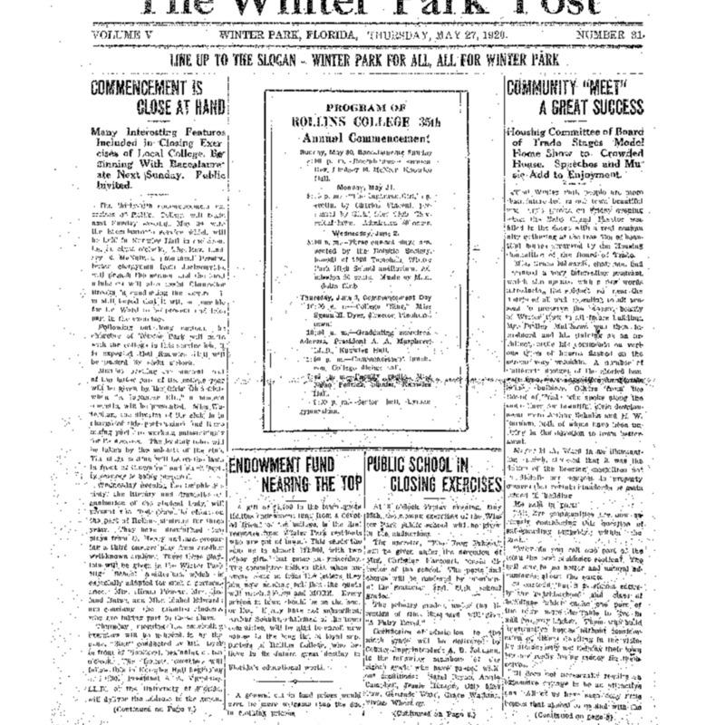 May 27, 1920
