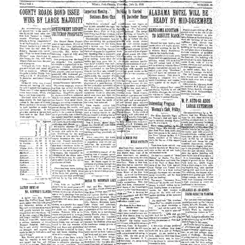 July 21, 1921
