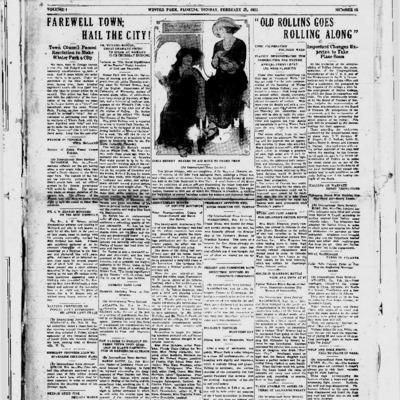 February 25, 1923