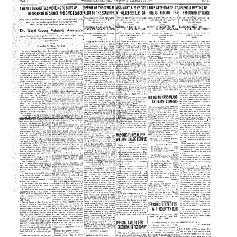 January 18, 1917